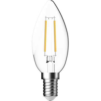 MINI CANDLE FILAMENT  CLEAR DIMMABLE